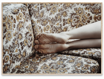 Restless feet by Julie Pike || Paper Collective