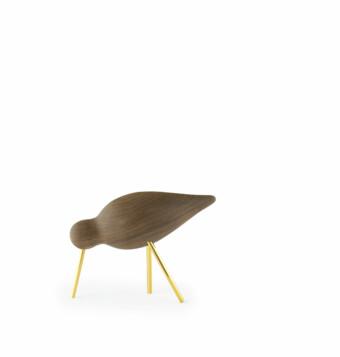 Shorebird wallnut medium || Normann Copenhagen