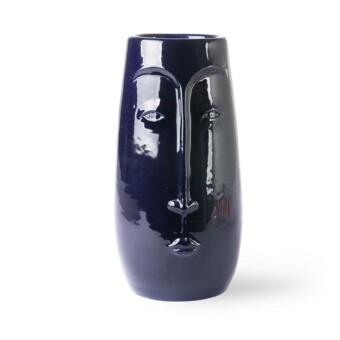 Face vase Azul || HK Living