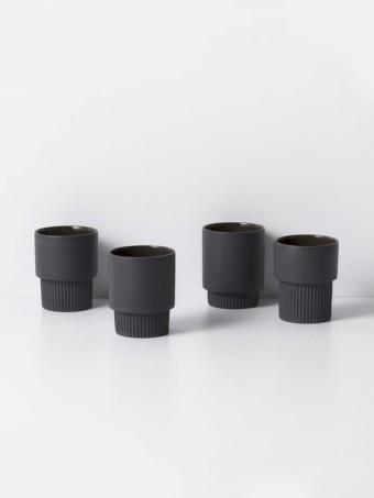 espresso mok, set van 4