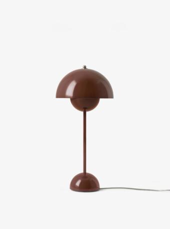 Flowerpot VP3 || Red Brown || &Tradition