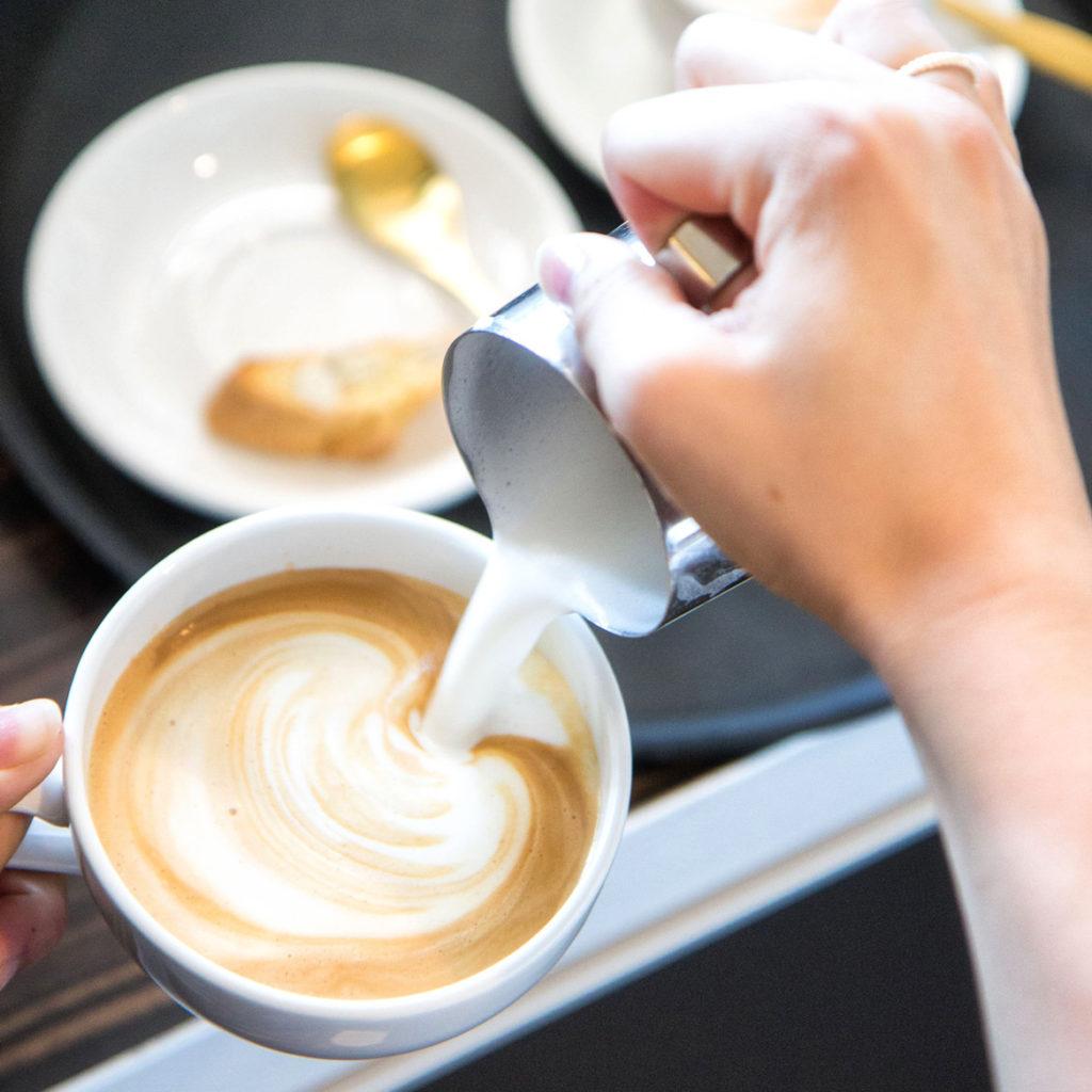 thuis eten koffie dronten bootkoffie flevoland