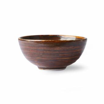 Home Chef Ceramics Dessert Bowl || Rustic brown || HKliving