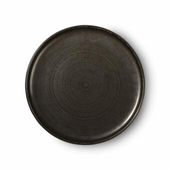 Home chef ceramic dinner plate || HK Living