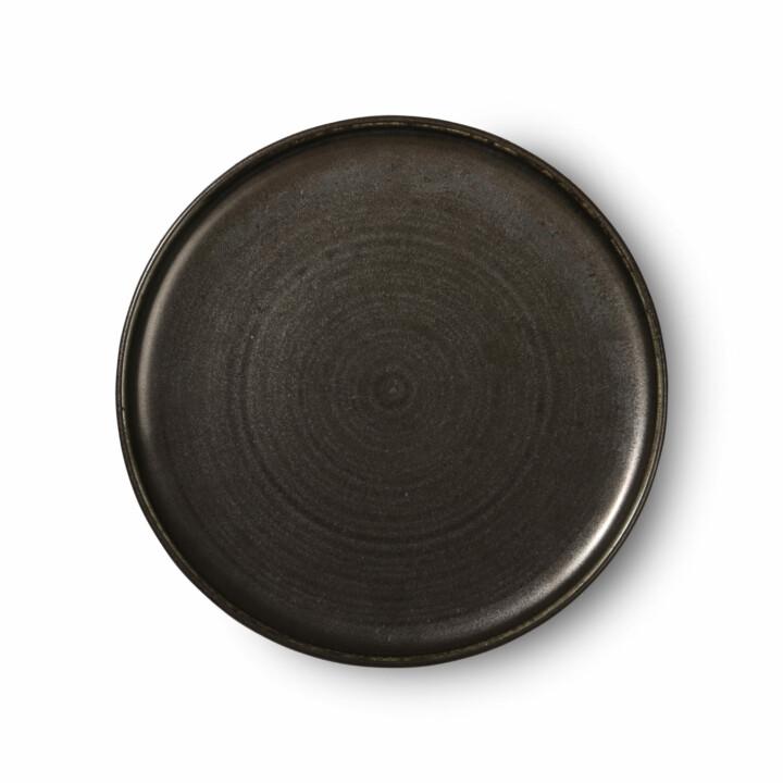 Rustic dinner plate