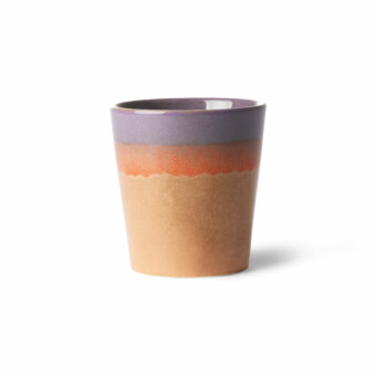 70's Ceramic mug || Sunset || HKliving