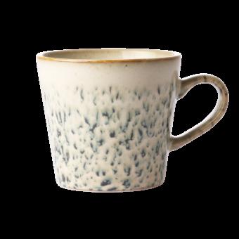 Ceramic 70's cappuccino mug || Hail || HKliving