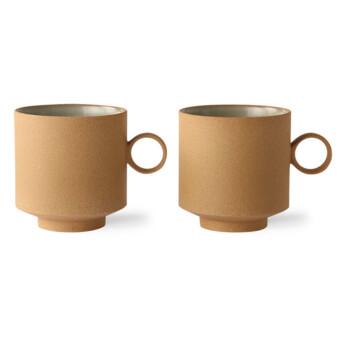 Bold & Basic Ceramics Coffee mug || Ochre || HKliving