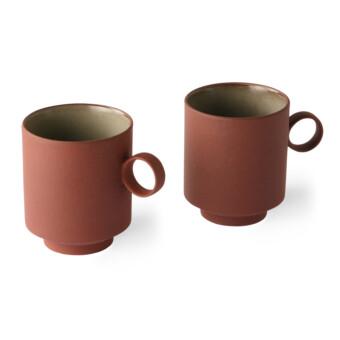 Bold & Basic Ceramics Coffee mug || Terra || HKliving