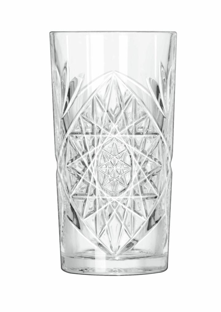 libbey hobstar longdrink glas